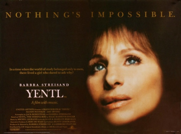 YENTL - UK Poster