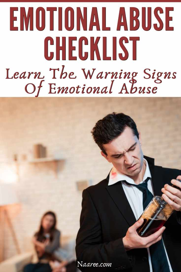 Emotional Abuse Checklist - Learn The Warning Signs Of Emotional Abuse