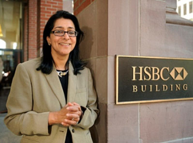 Naina Lal Kidwai, Indian Woman Business Leader