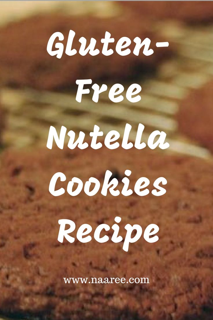 Making these gluten-free Nutella Cookies is super simple and this recipe is open to all types of additions and modifications. These are very basic Nutella Cookies with only 4 basic ingredients and took only 20 minutes to make and finish! Save this pin and click to get the recipe now. #cookies #Notella #recipe #glutenfree