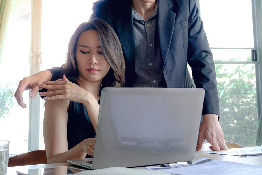 covert and overt harassment