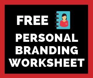 Free Personal Branding Worksheet