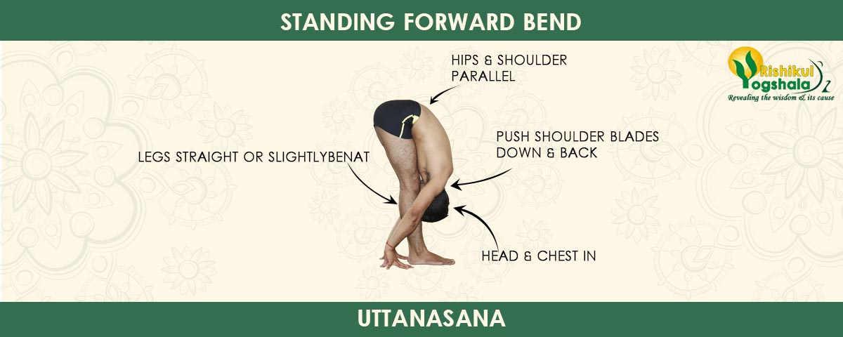 Standing Forward Bend Pose (Uttanasana)
