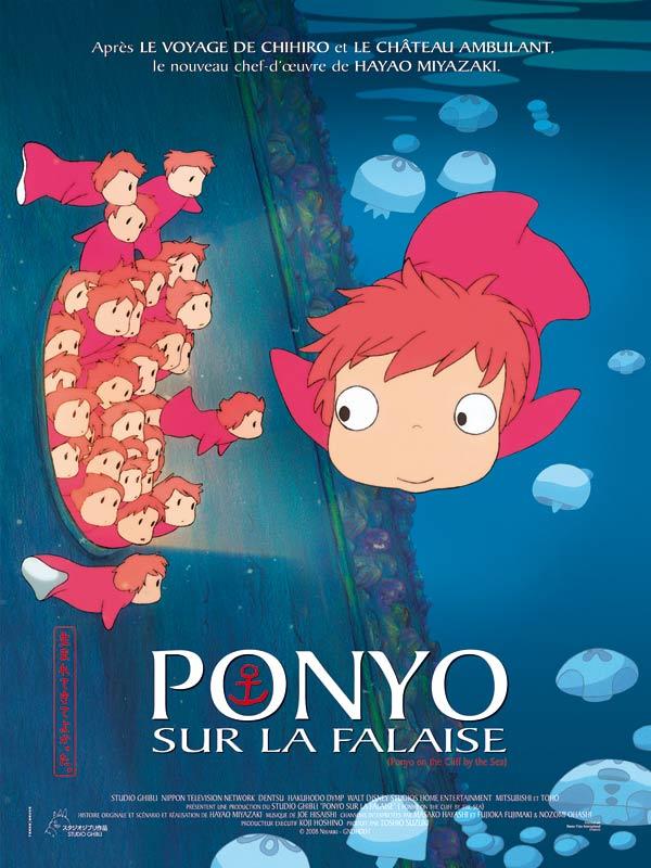 Le Voyage De Chiiro Streaming : voyage, chiiro, streaming, Ponyo, Cliff, Hayao, Miyazaki