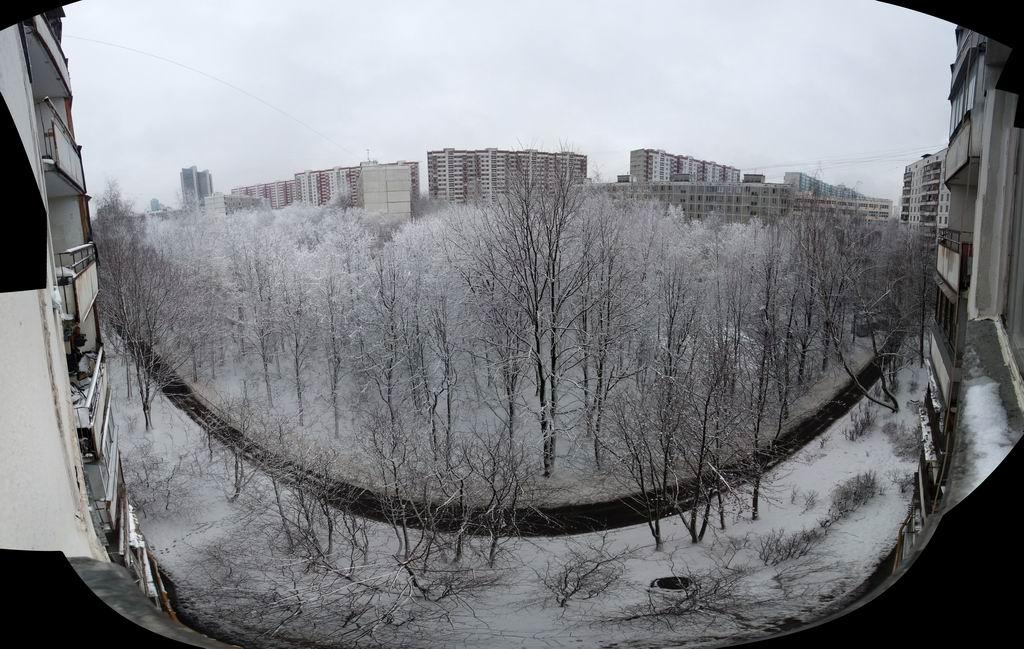 """Пано """"Зима"""""""