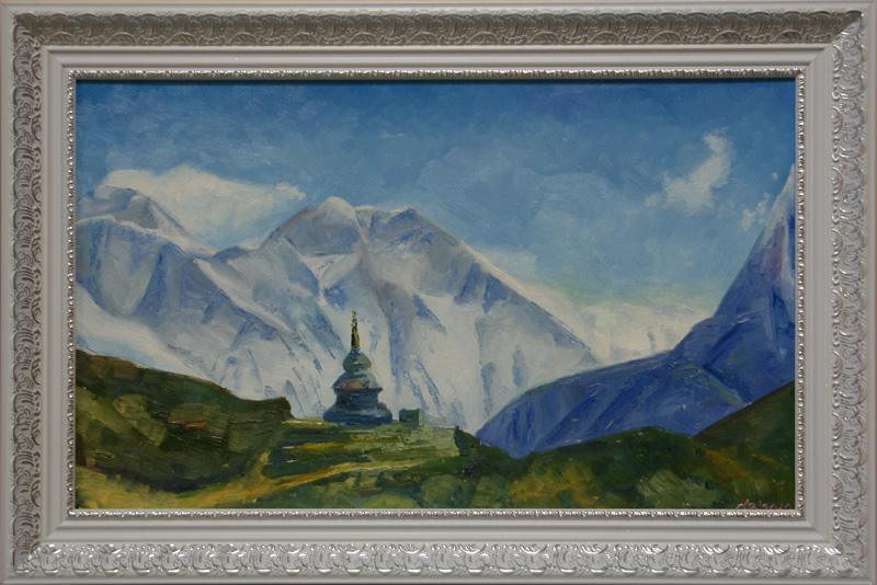 Непал, пейзаж, горы.