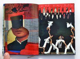 Livre d'artiste 9×13 cm plié