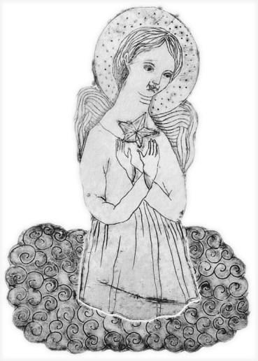 gravure sur papier Arches 13x9 cm