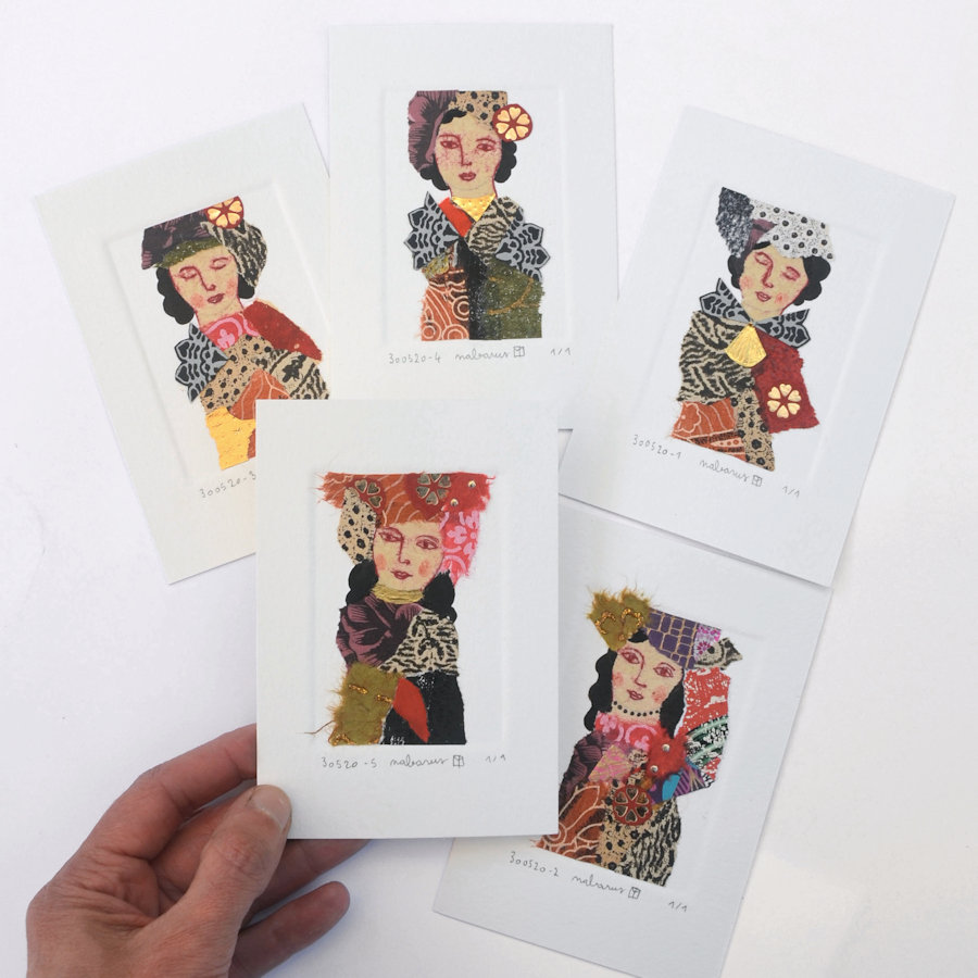 miniatures-collages-decoration murale