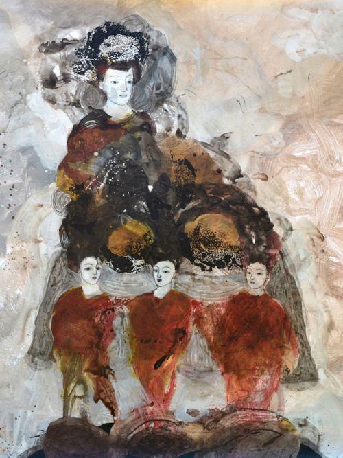 toile bache peinture art contemporain nabarus