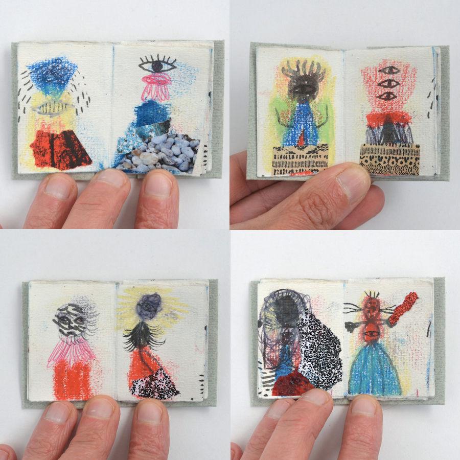 petit livre artiste artist book miniature nabarus