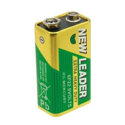 9v battery new leader