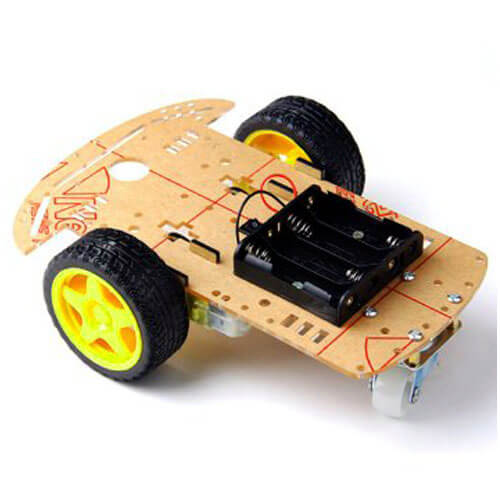 Robot Chassis (2 Wheels)