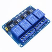 4 Channel 5V 10A Relay Module