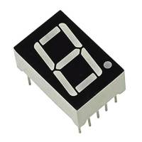 7 Segment Display 1 Digit Display