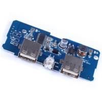 5V 1A 2A Dual USB Power Bank Circuit