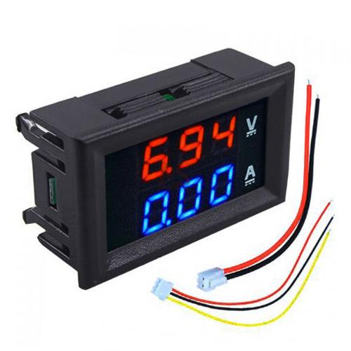 DC 100V 10A Digital Volt and Ampere Meter