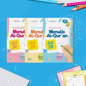 Paket Menulis Al Quran Juz 28 29 30
