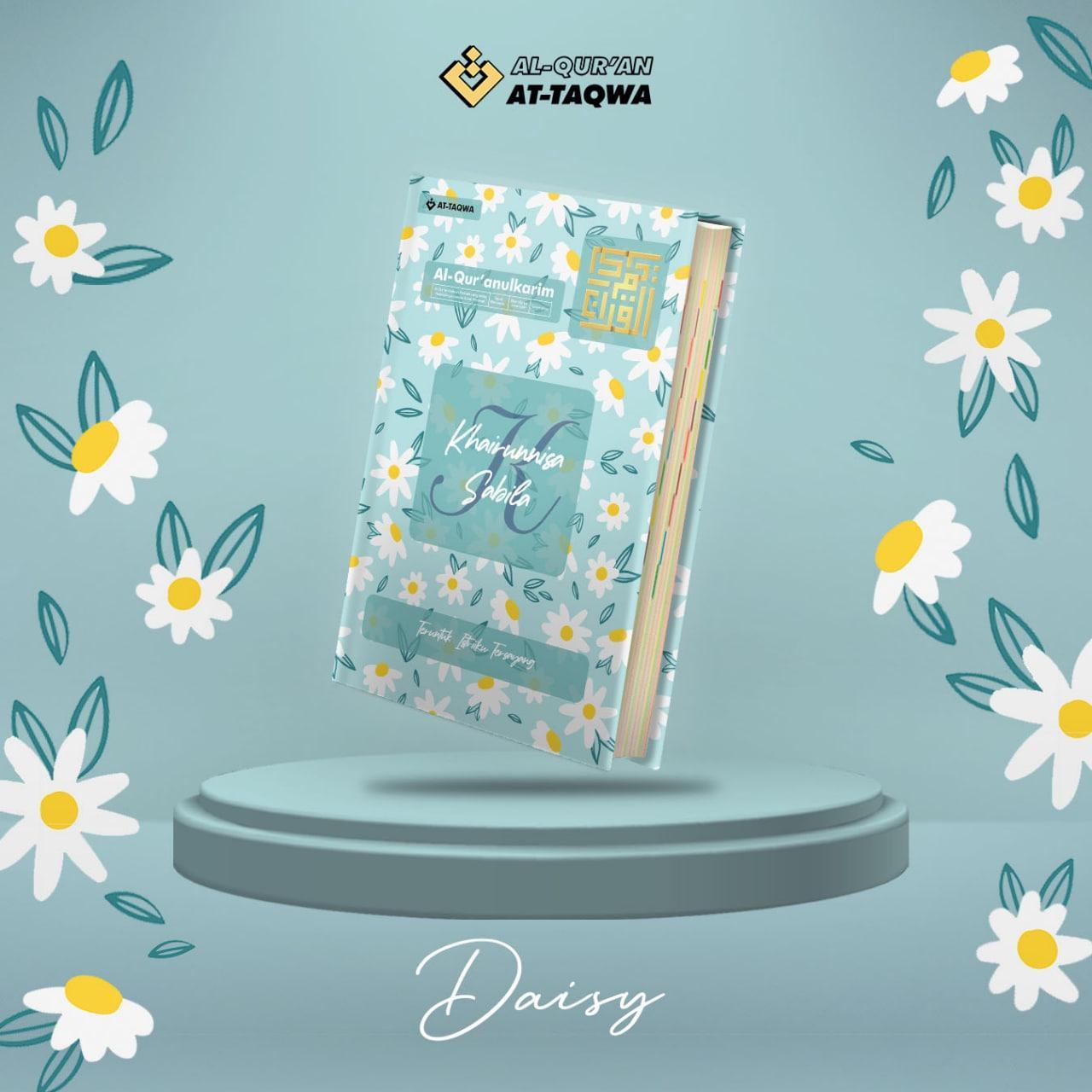 Al Quran Floral At Taqwa Daisy