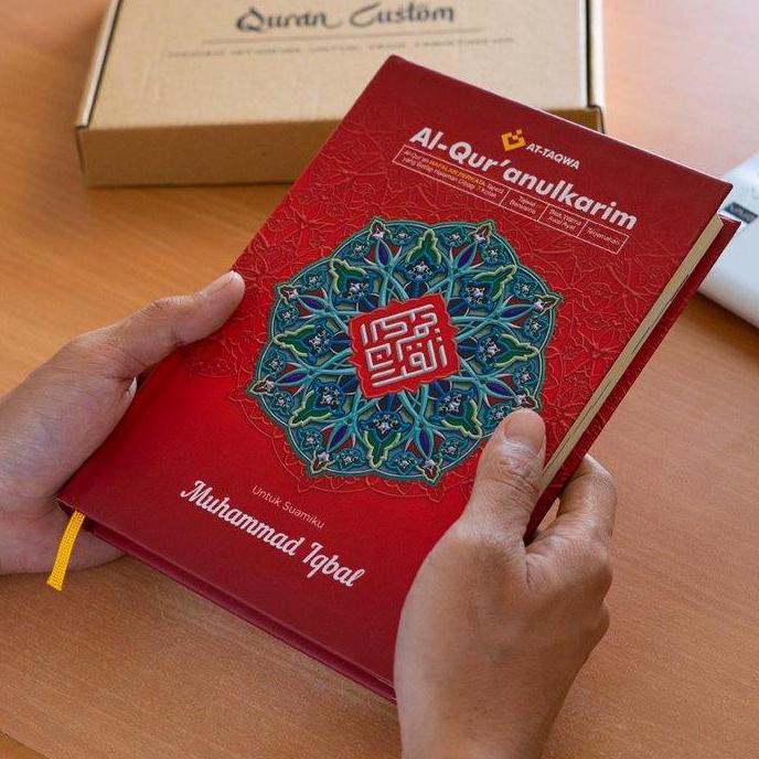 Al Quran Luxury Merah Attaqwa