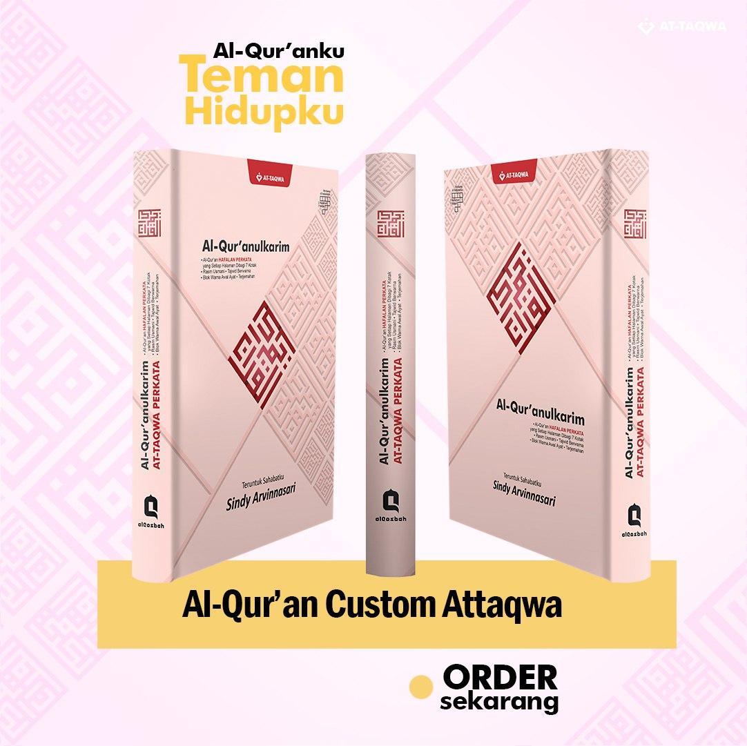 Al Quran Millenial Attaqwa Pink