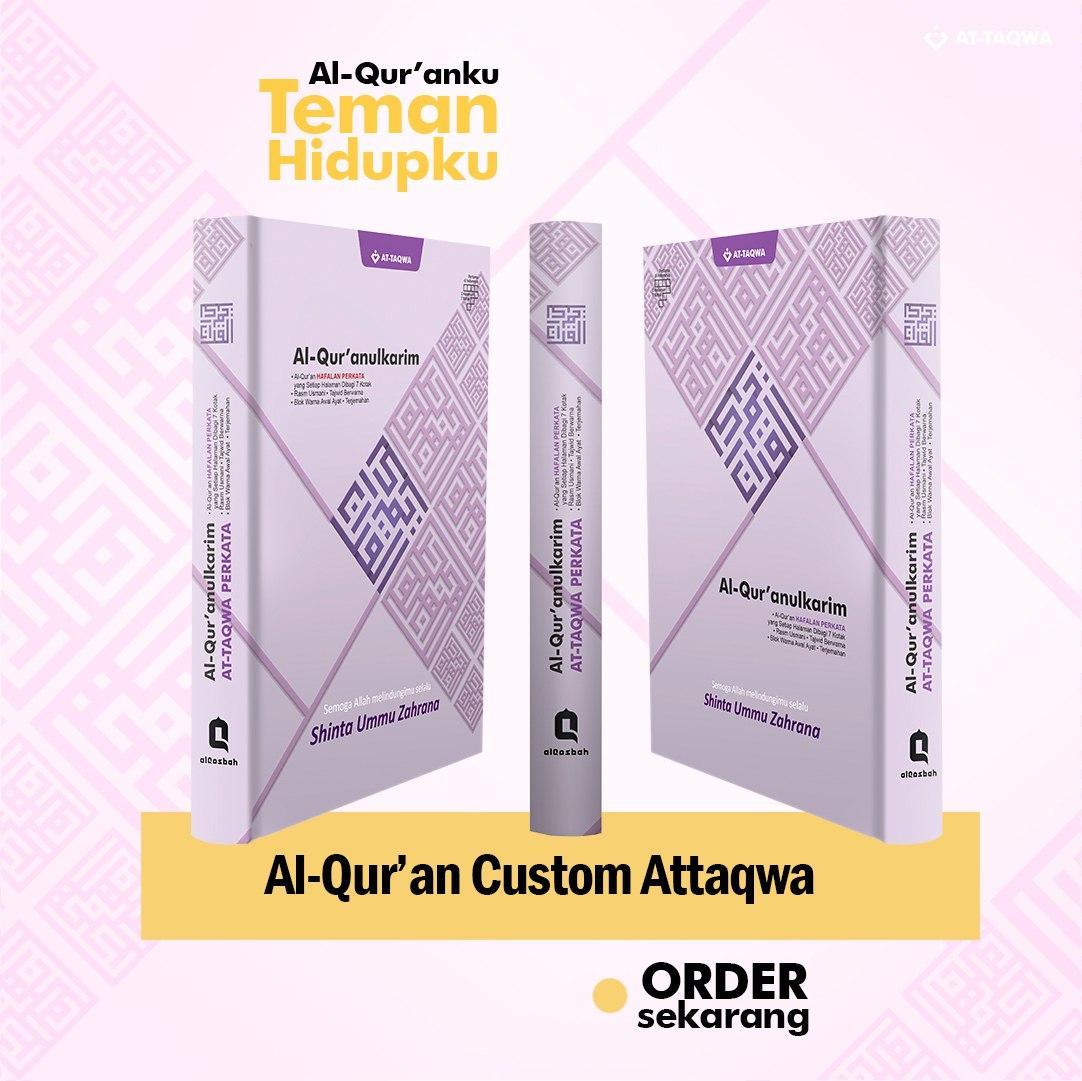 Al Quran Millenial Attaqwa Ungu