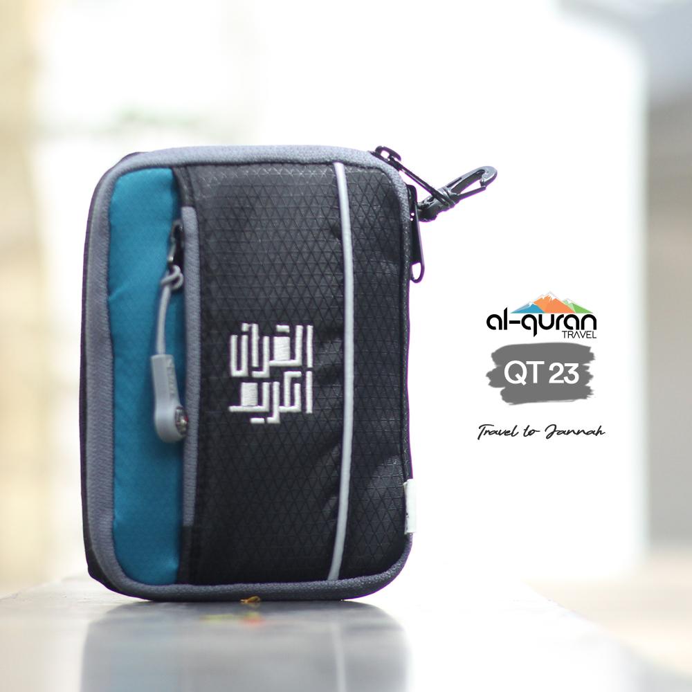 Al Quran Travel A6 Grey Tosca