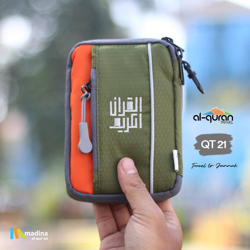 Al Quran Travel A6 Green Orange