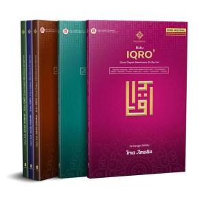 Buku Iqro' A5 King Salman warna Coklat