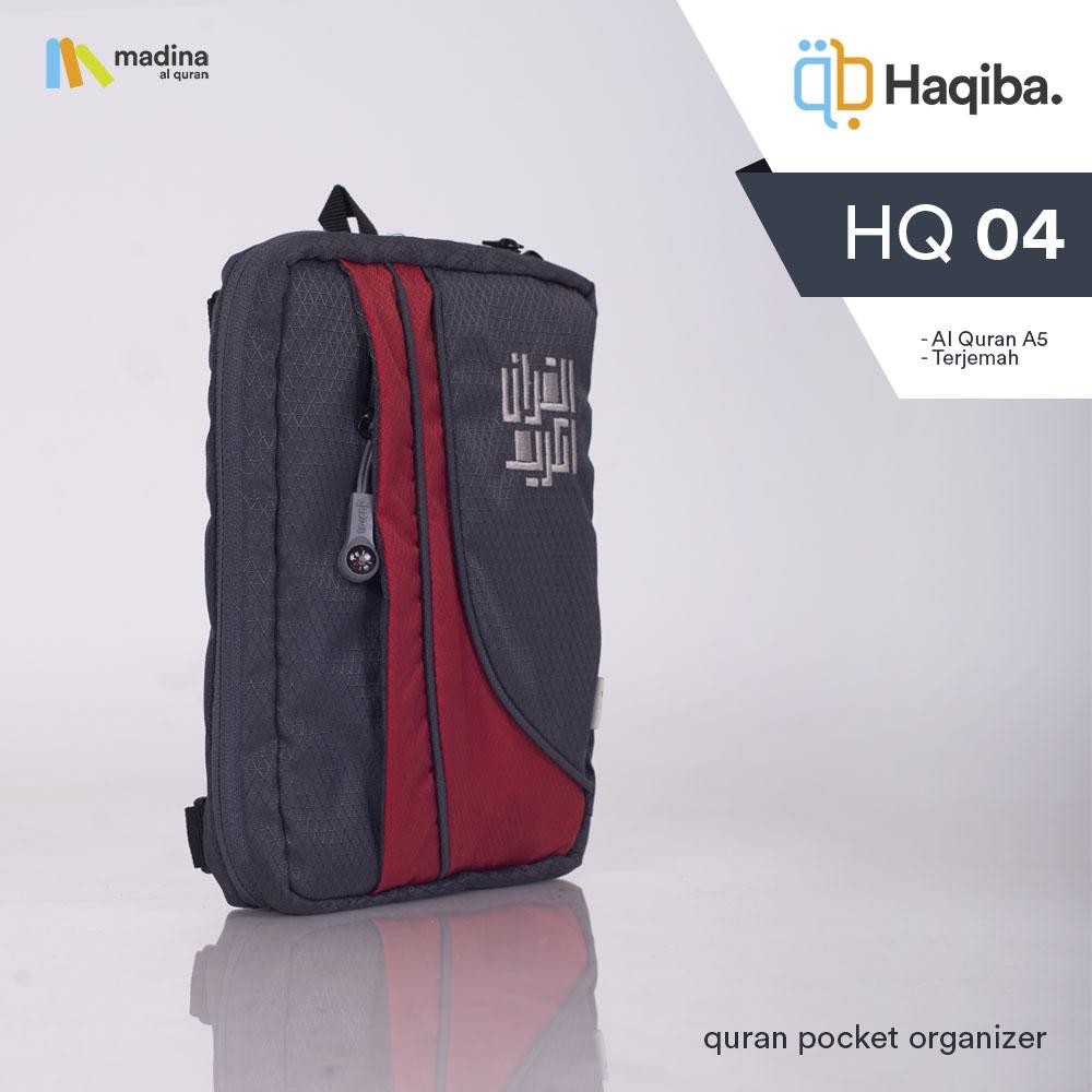 Haqiba Grey Red A5 HQ04