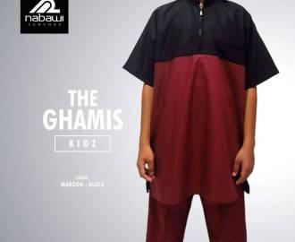 NabawiClothes.com - Baju Gamis Pakistan Anak Laki-laki Muslim EMERALD Series merah