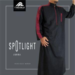 nbw coll Gamis Jubah Panjang Muslim Pria Murah Terbaru Nabawi Cloth Modis hitam marun