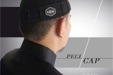 Peci CAP Muslim Ikhwan Pria Keren Hitam dan Abu by NBW