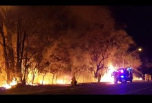 Photo of آلاف من سكان أستراليا يهربون إلي الشواطئ خوفا من الحرائق