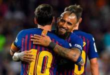 Photo of مسي يرفض رحيل فيدال عن برشلونة