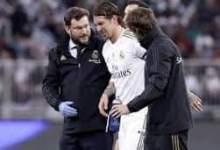 Photo of إصابة راموس تفسد احتفال ريال مدريد بالسوبر الإسباني