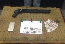 Photo of ضبط أحد العناصر الإجرامية بحوزته بندقية خرطوش