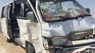 Photo of مصرع 7 أشخاص وإصابة 9 في حادث تصادم سيارتين بالمنيا