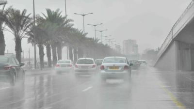 طقس غير مستقر وأمطار غزيرة على جميع مدن الشرقية