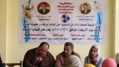 Photo of مبادرة التوعية الصحية بالأمراض التنفسية بإدارة شباب كفر شكر
