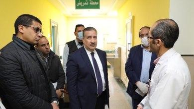 Photo of أبو ليمون: يتفقد مستشفي الباجور العام ويوجه بزيادة غرف العزل لإستقبال الحالات المشتبه إصابتها بفيروس كورونا
