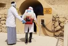 Photo of وزارة السياحة والآثار بدأت أعمال التعقيم والتطهير للمناطق الأثرية في صعيد مصر