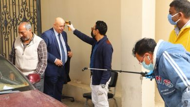 Photo of سعفان يتابع اتخاذ الإجراءات الاحترازية لجميع العاملين بالوزارة