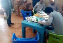Photo of تنظيف وتوزيع الخضار في نادي القناطر