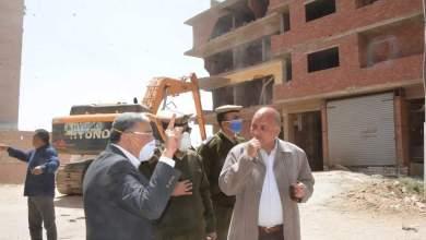Photo of إزالة 609 حالة تعد على 2180 فدانا بمحافظة المنيا..صور