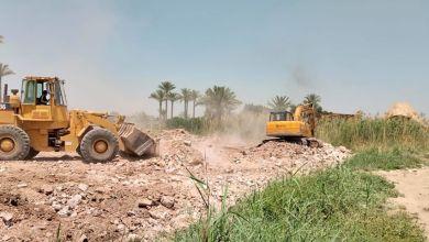 Photo of وزارة الرى مستمرة فى إزالة كافة أشكال التعديات على نهر النيل