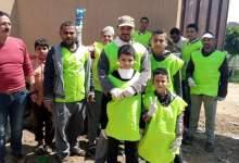 Photo of شباب الحصافة في حملة تطوعية لتعقيم المركز والقرية
