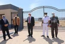 Photo of محافظ جنوب سيناء يتفقد إجراءات غلق الشواطئ والمتنزهات والحدائق العامة بطور سيناء