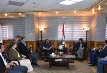 Photo of وزير الرياضة يجتمع باللجنة الخماسية لإتحاد كرة القدم