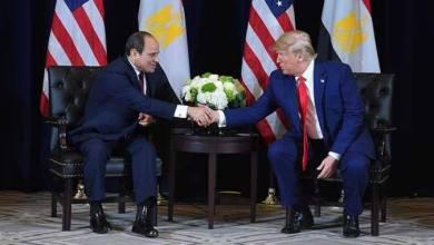 """Photo of """"السيسي """" يجري اتصالًا هاتفيًا مع نظيره الأمريكي لتبادل وجهات النظر حول تطورات الوضع الليبي"""